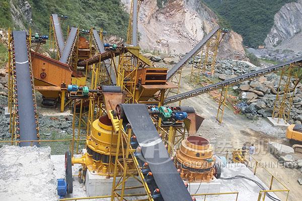 贵州石料生产线