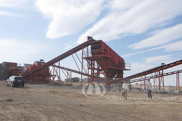 新乡石料生产线