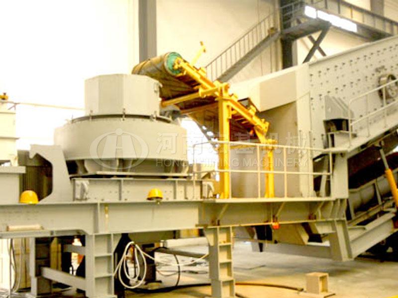 移动式制砂机